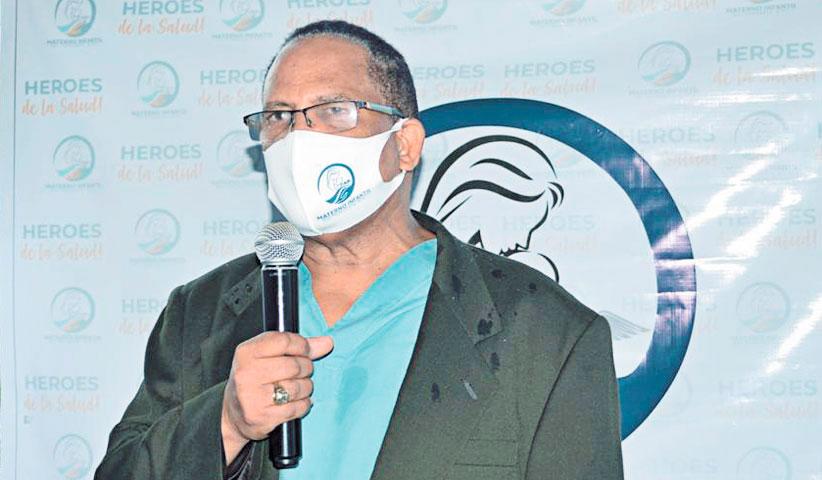 ❏ Dr. José Polanco Liranzo, miembro del consejo fundador del Centro Materno Infantil del Nordeste.