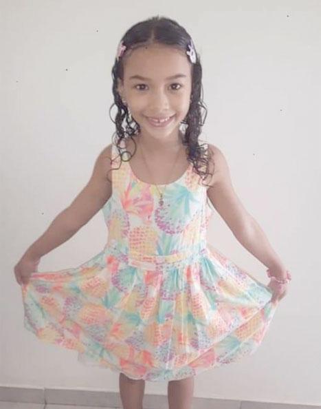 De cumpleaños la simpática niña Airana Chanel Cromberge García. Sus padres y demás familiares le desean muchas bendiciones y felicidades
