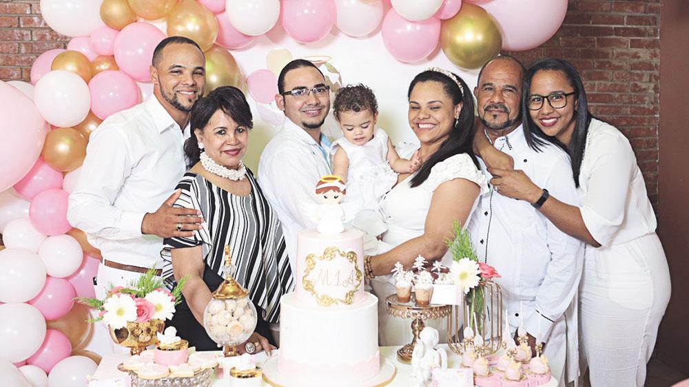 Amada Milagros Hernández con quien formó su familia y hogar, juntos tuvieron tres hijos, a quienes llamaron Mizraim Amiher, Gerly Mavet y Hersil Leafar Enmanuel.