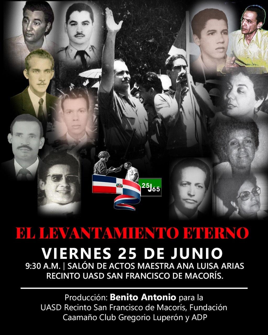 """Afiche documental, """"El Levantamiento Eterno"""""""