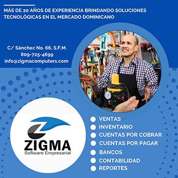 Zigma Computers  En Zigma nos proponemos brindarle un servicio de calidad, apoyandonos en nuestros recursos humanos.