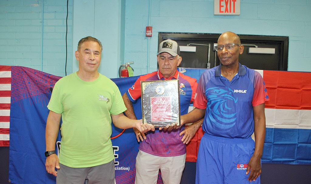 El veterano dirigente deportivo de origen dominicano, José Alfredo Guzmán