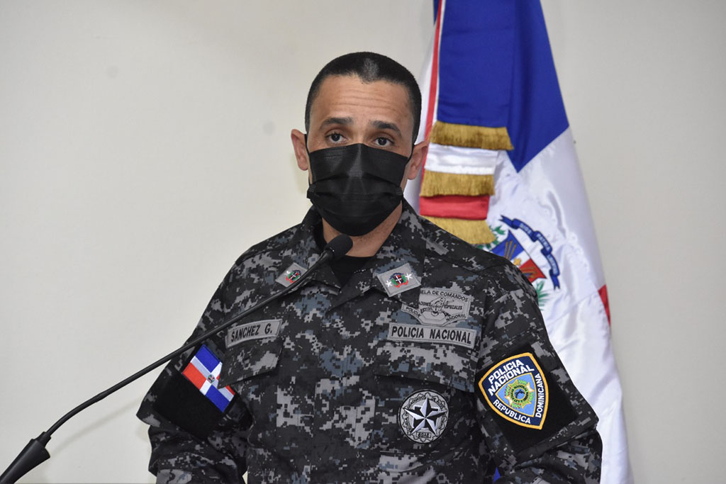 Mayor general Edward Sánchez