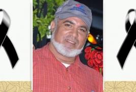 Lamentan fallecimiento de Julio César García Cabral