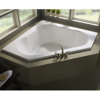 Eljer Triangle Soaking Tub Product Detail