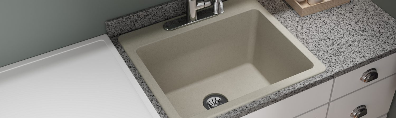 quartz classic kitchen sinks elkay
