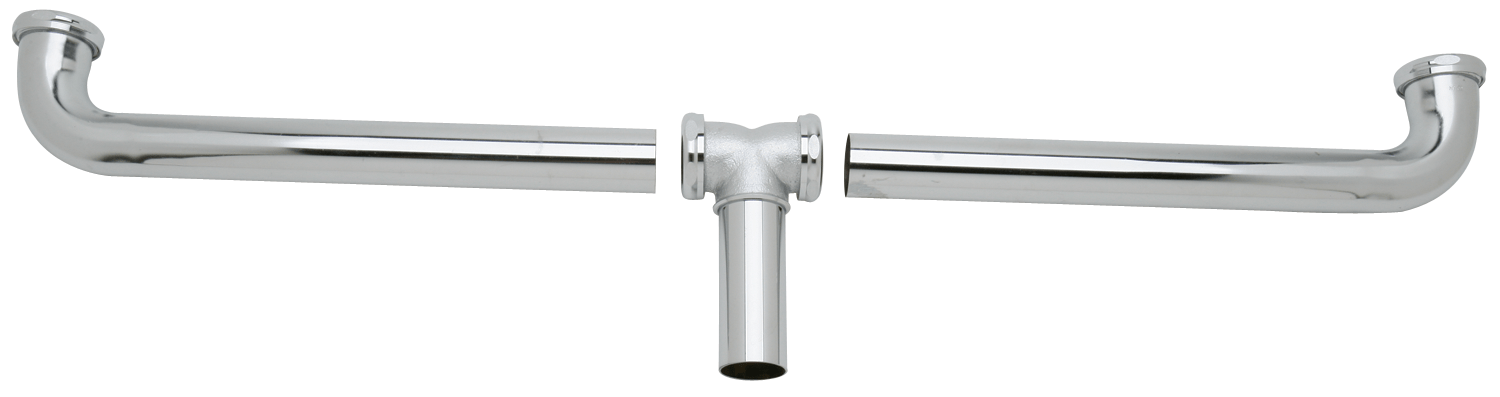elkay drain fitting center outlet for double bowl sinks