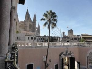 Museu Palau March Palma de Mallorca Kathedralenblick
