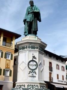 Tizian-Denkmal Pieve di Cadore