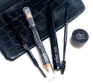Faux Crocodile Black Cosmetic Bag 1