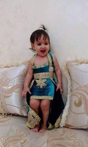 قنادر جزائرية للبنات الصغار للاعراس 2018