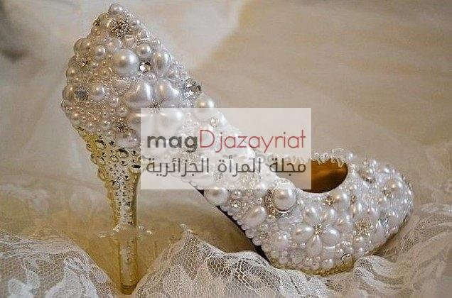 أحذية جديدة لعروس 2018