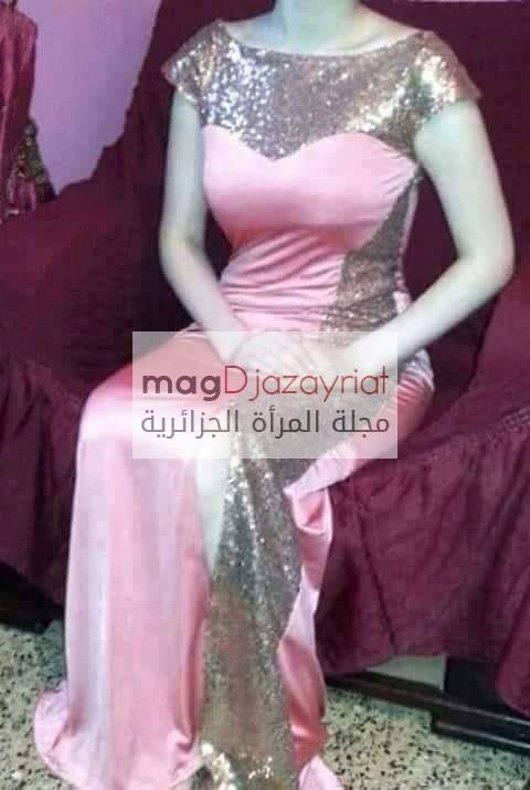2cf9de0e5cace لكي سيدتي حصريا جديد فساتين السهرة و المناسبات 2018. Algerian dress روووعة  متنوعة للخياطة من مجلة جزائريات