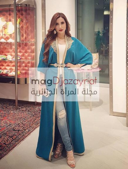 من هي النجمة العربية الأجمل في القفطان التقليدي؟