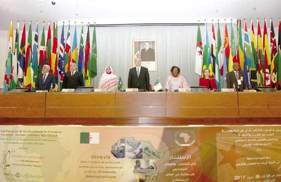Sellal plaide: Pour une dynamique africaine Le Pacte national économique et social pour la crois 2
