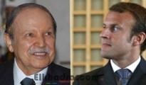Macron s'est entretenu au téléphone avec le président Bouteflika 25