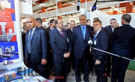 """Sellal à la Foire internationale d'Alger: """"il faut gagner la bataille de l'export"""" 2"""