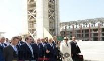 Tebboune ordonne l'accélération de la cadence de réalisation de la Grande mosquée d'Alger pour sa réception avant la fin 2017 7