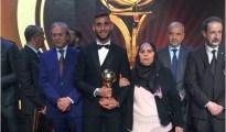 Faouzi Ghoulam élu Ballon d'or algérien 10