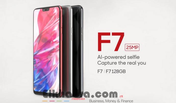 OPPO : Le F7  équipé d'un capteur smart selfies de 25MP ! 2