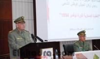 Gaïd Salah souligne la nécessité d'inclure le module d'Histoire comme matière fondamentale dans les programmes d'enseignement de l'ANP 17
