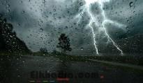 Météo Algérie- Fortes pluies orageuses sur 7 wilayas du Nord 16