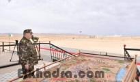 Gaïd Salah supervise l'exécution d'un exercice démonstratif combiné avec munitions réelles 21