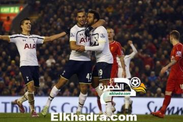 نبيل بن طالب اساسي امام ليفربول و ينهزم رفقة توتنهام بثلاثية مقابل هدفين 29