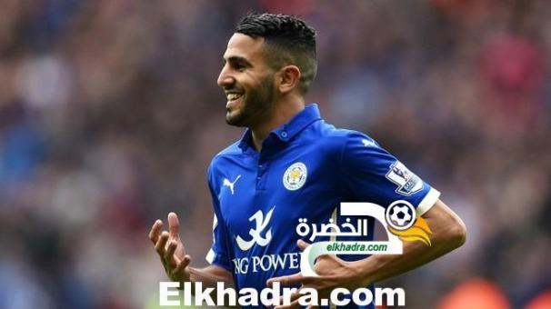 رياض محرز ضمن أحسن الأفارقة في الدوري الإنجليزي 24