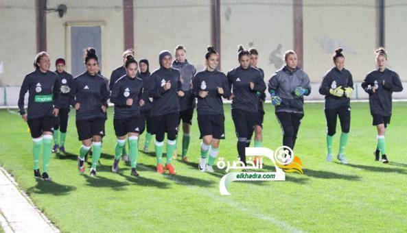 سيدات الجزائر في تربص جديد تحسبا لموقعة إثيوبيا 24