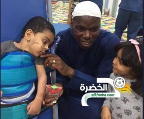بالصور.. بوجبا في زيارة للأطفال ذوي الاحتياجات الخاصة بالسعودية 24