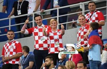 رئيسة كرواتيا تعلن عن مفأجاة حال الفوز بكأس العالم 33