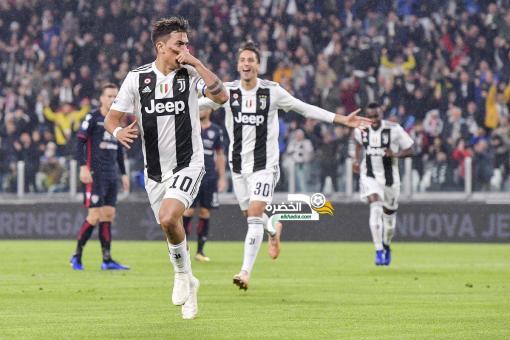 يوفنتوس يواصل تربعه على صدارة الدوري الإيطالي بثلاثية على كالياري 24