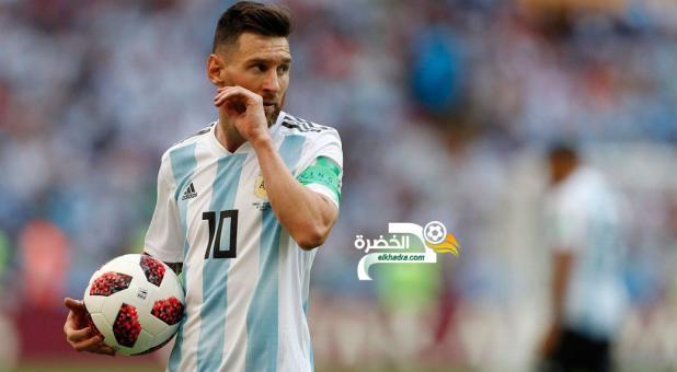 ليونيل ميسي يستقر على العودة لمنتخب الأرجنتين 24