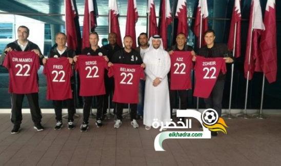 الاتحاد القطري يكرم بلماضي والمنتخب الوطني 24