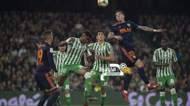ماندي أساسي في هزيمة ريال بيتيس امام فالنسيا 24