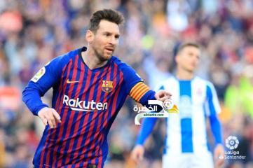 ميسي يقود برشلونة لحسم ديربي كتالونيا امام إسبانيول 29