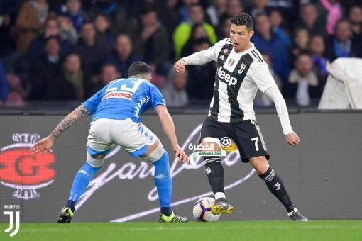 يوفنتوس يقترب من لقب الكالتشيو بفوزه المثير على نابولي 24