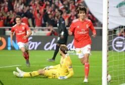 بنفيكا يفوز على فرانكفورت (4-2) في ذهاب ربع نهائي الدوري الأوروبي 28