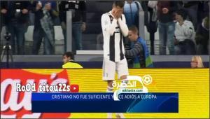 شاهد ردة فعل كريستيانو رونالدو بعد تسجيل أياكس الهدف الثاني 32