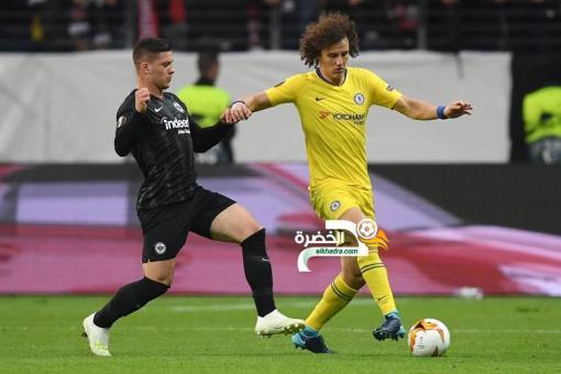 إنتراخت فرانكفورت يتعادل أمام تشيلسي في ذهاب نصف نهائي الدوري الأوروبي 24