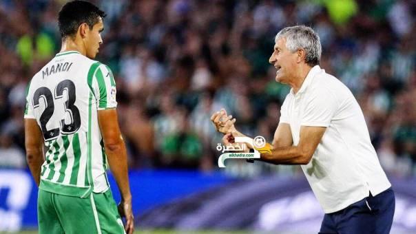 ماندي أكثر اللاعبين نجاحا في التمرير خلال النسخة الحالية من الدوري الإسباني 24