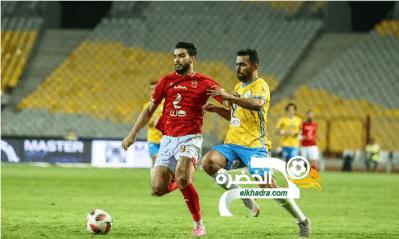 الإسماعيلي يوقف انتصارات ضيفه الأهلي 32