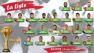 جمال بلماضي يعلن عن قائمة المنتخب لكأس إفريقيا 27