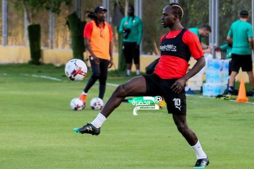 مجموعة الجزائر| بالصور.. السنغال يجري اول تدريباته في مصر 24