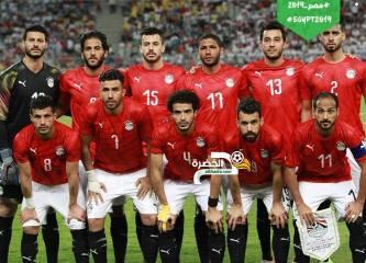 منتخب مصر يحقق فوزاً مثيراً على غينيا بثلاثية 27
