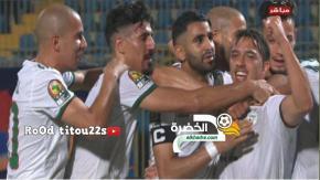اهداف مباراة الجزائر و كينيا (2-0) تألق رياض محرز Algérie vs Kenya 2-0 36