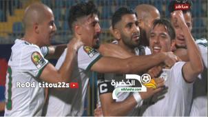 اهداف مباراة الجزائر و كينيا (2-0) تألق رياض محرز Algérie vs Kenya 2-0 29