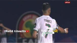 اهداف مباراه الجزائر وكينيا 2-0 - رياض محرز - كاس امم افريقيا 2019 30