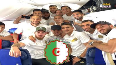 بالفيديو كواليس رحلة المنتخب الوطني من الجزائر إلى قطر 28
